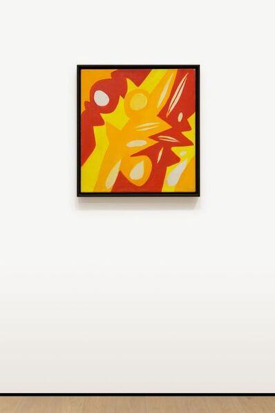 Ernst Wilhelm Nay, 'Gelb – Rot', 1967