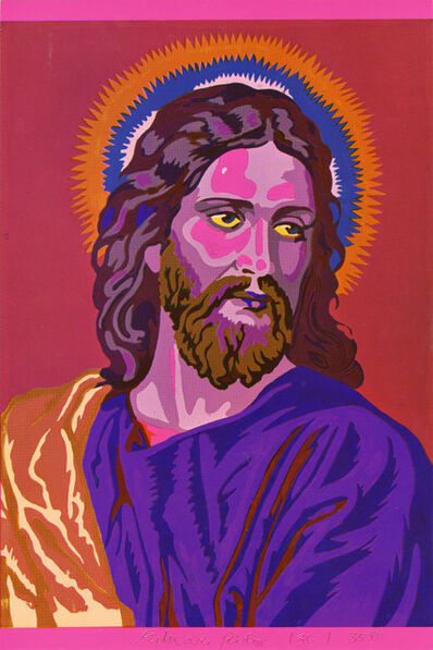 Eduardo Paolozzi, 'Jesus Colour by Numbers', 1970