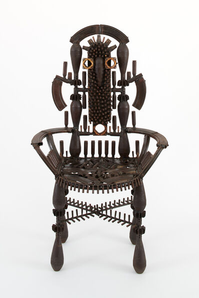 Gonçalo Mabunda, 'Untitled (throne)', 2018