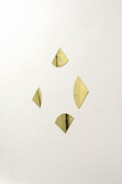 Knut Henrik Henriksen, 'Circle To Square (101°, 99°, 86°, 74°)', 2011