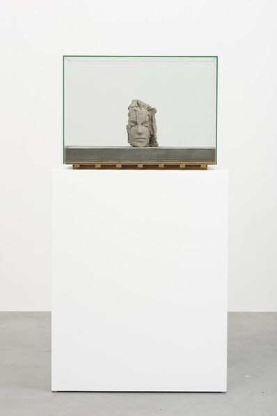Mark Manders, 'Dry Clay Head on Concrete Floor', 2015