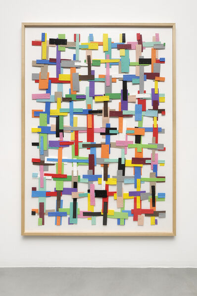 Beat Zoderer, 'Kreuzweise', 2009
