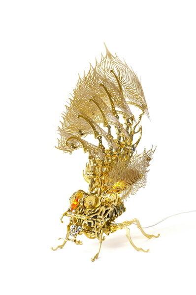 U-Ram Choe, 'Gold Insecta Lamp', 2013