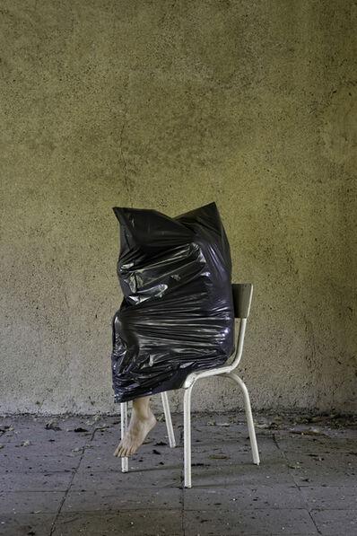 Elina Brotherus, ' Black Object, White Chair', 2016
