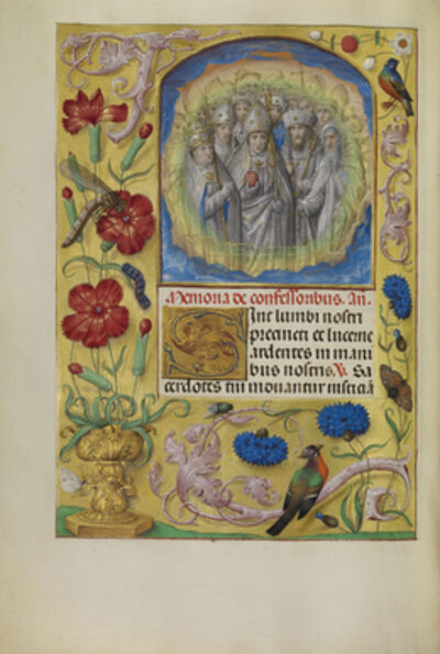 Master of James IV of Scotland, 'Confessor Saints', 1510-1520