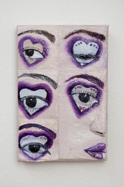 Gina Beavers, 'Eye Love', 2019