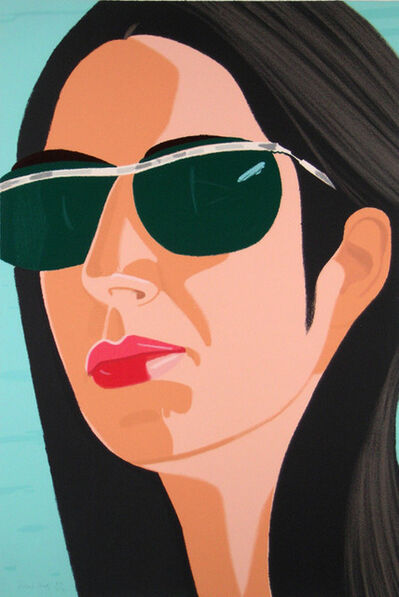 Alex Katz, 'Ada with Sunglasses (from Alex & Ada portfolio) ', 1990