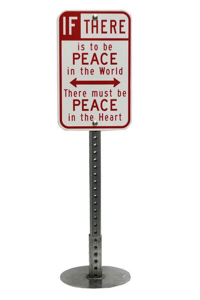 Scott Froschauer, 'Peace Sign', 2018