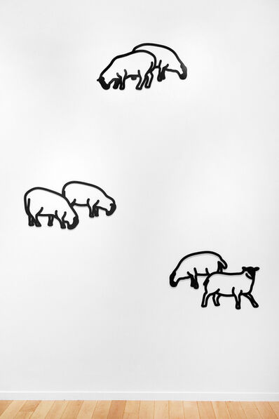 Julian Opie, 'Nature 1 - Sheep', 2015