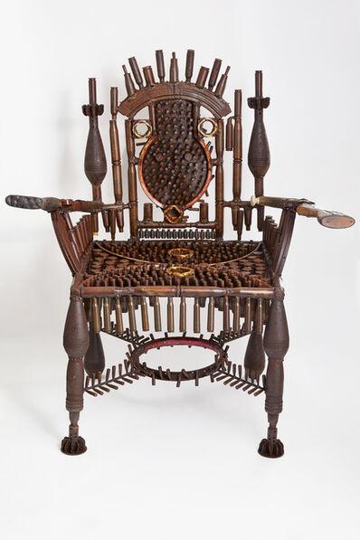 Gonçalo Mabunda, 'Throne of the present owner', 2020