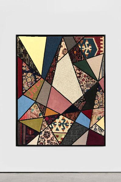 "Nevin Aladağ, '""Social Fabric, Kite""', 2018"