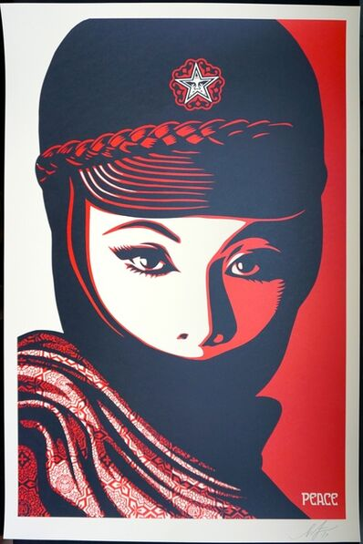 Shepard Fairey, 'Mujer Fatale, Hand-signed by Shepard Fairey', 2019