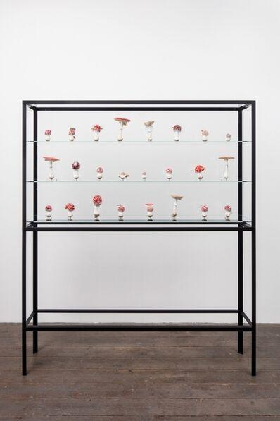 Carsten Höller, 'Double Mushroom Vitrine (Twenty-Fourfold)', 2018