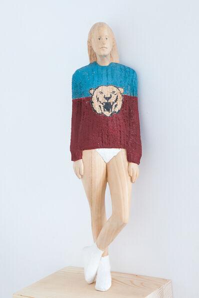 Antonio Samo, 'Girl with lion', 2015