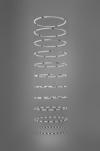Heinz Mack, 'Zirkulare Raumskulptur - Große Farbspirale ', 2000