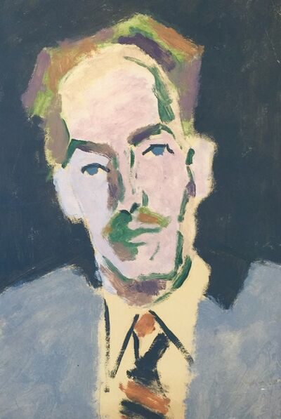 Karl Knaths, 'Portrait of Duncan Phillips', Mid 20th c.
