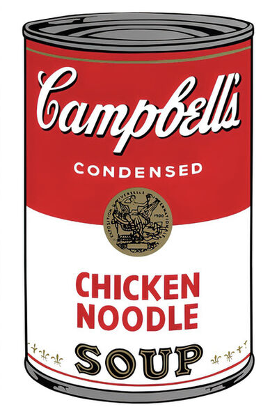 Andy Warhol, 'Campbell's Soup Can 11.45 (Chicken Noodle)', 1960s printed after
