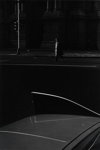 Ray K. Metzker, 'Philadelphia (car fin)', 1964