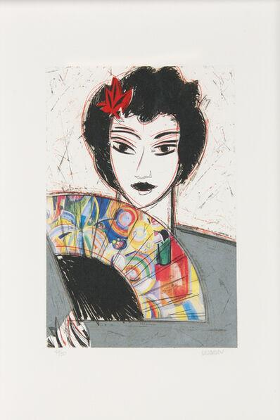 Manolo Valdés, 'Dama con Abanico'