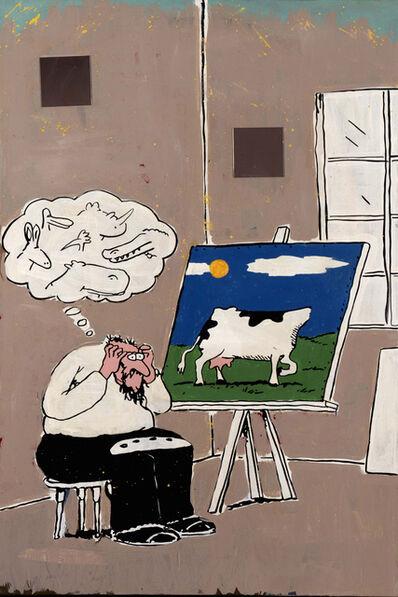 Achim Duchow, 'Orientierungslosigkeit in der Kunst', 1991