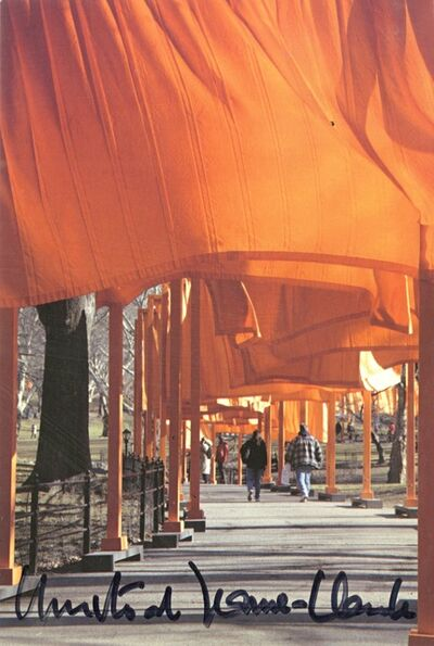 Christo and Jeanne-Claude, 'The Gates (Hand Signed) from the collection of Jeanne-Claude's former assistant', 2005