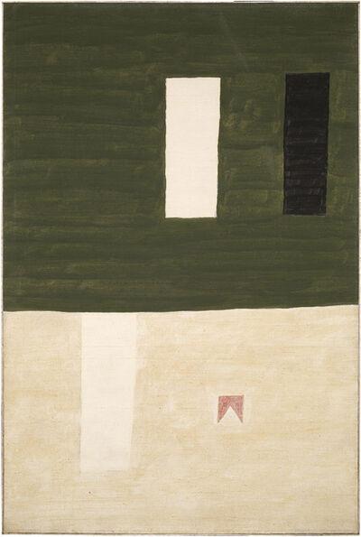 Alfredo Volpi, 'Façade', ca. 1960
