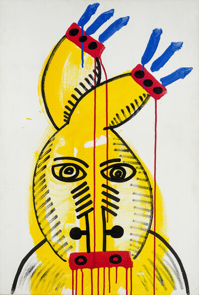 Keith Haring, 'Red-Yellow-Blue #20', 1987