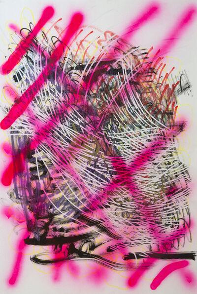 Denise Treizman, 'Pink Grid', 2015