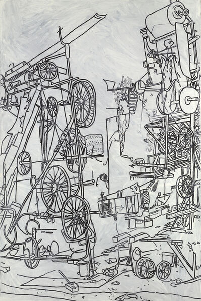 Michael Landy, 'H2NY Tinguely's Contraption, Nation', 2006