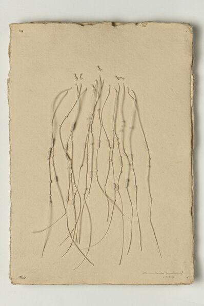 Aurèlia Muñoz, 'White Quipu Book', 1983