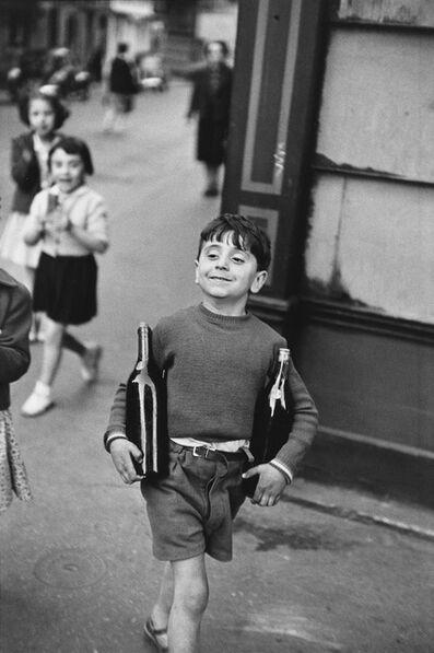 Henri Cartier-Bresson, 'Rue Mouffetard'
