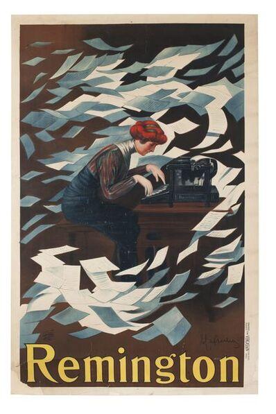 Leonetto Cappiello, 'Remington', 1910