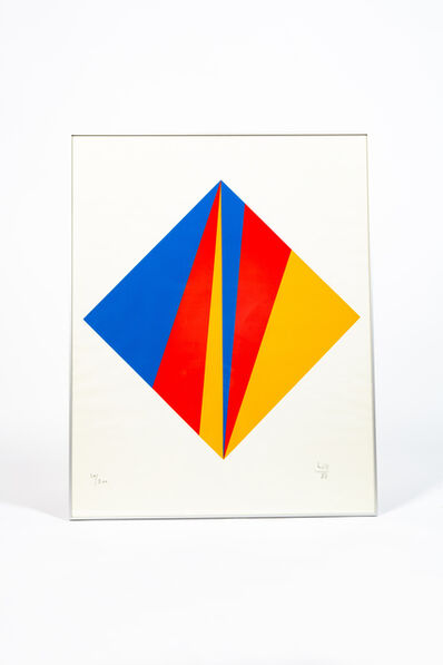 Max Bill, 'Serigraphie on paper', 1988