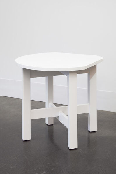 Roy McMakin, 'A Small Table for a Corner'