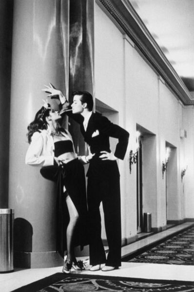 Helmut Newton, 'Woman into Man', 1979