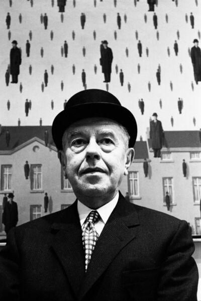 Steve Schapiro, 'René Magritte at MOMA', 1965