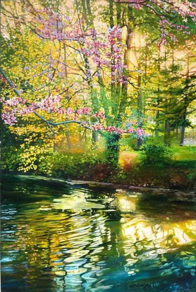 Michelle Courier, 'Spring Pond', 2015