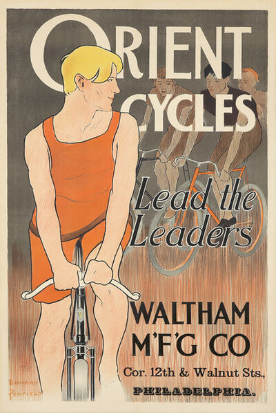 Edward Penfield, 'Orient Cycles.', ca. 1895