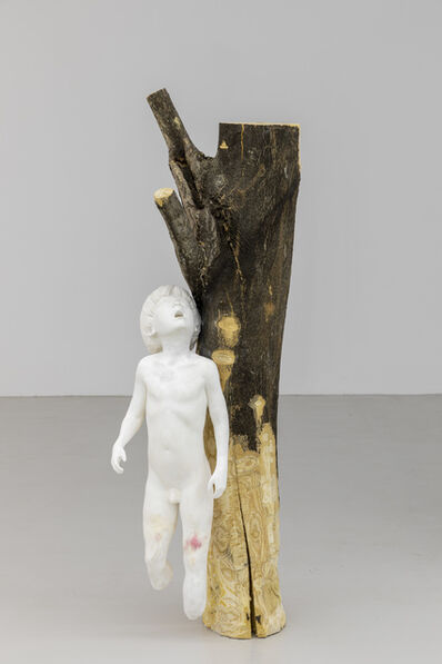 Yves Scherer, 'Boy with Tree', 2020
