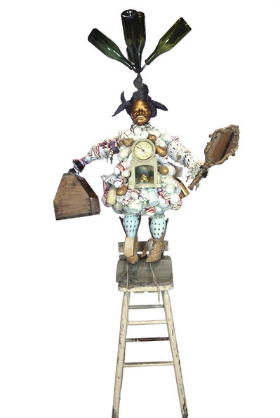 Vanessa German, 'Bottle Tree in my Body; Power figure to the simultaneous presence & pressure of the past, the present & the future.', 2017