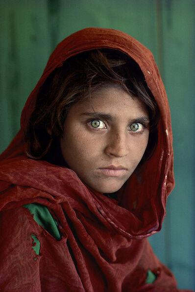 Steve McCurry, 'Sharbat Gula, Afghan Girl, Peshawar, Pakistan', 1984