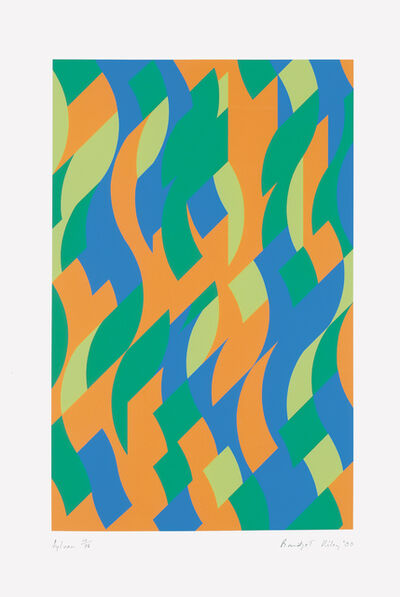 Bridget Riley, 'Sylvan', 2000