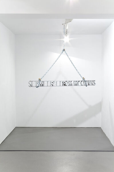 Zoulikha Bouabdellah, 'Set me free from my chains', 2012