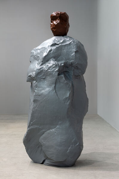 Ugo Rondinone, 'brown gray nun', 2020