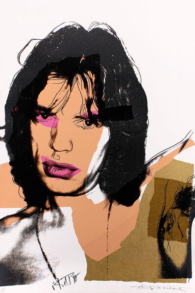 Andy Warhol, 'Warhol and Jagger, Mick Jagger', 1975
