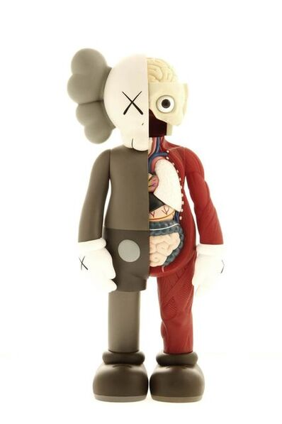 KAWS, 'Dissected Companion 5 Years Later (Brown)', 2006