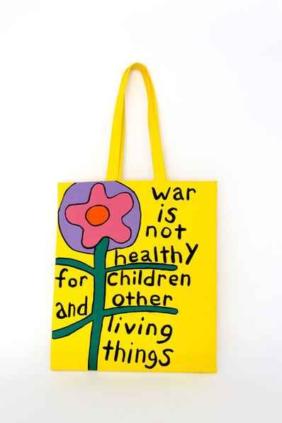 Libby Black, 'War Is Not Healthy Tote', 2018