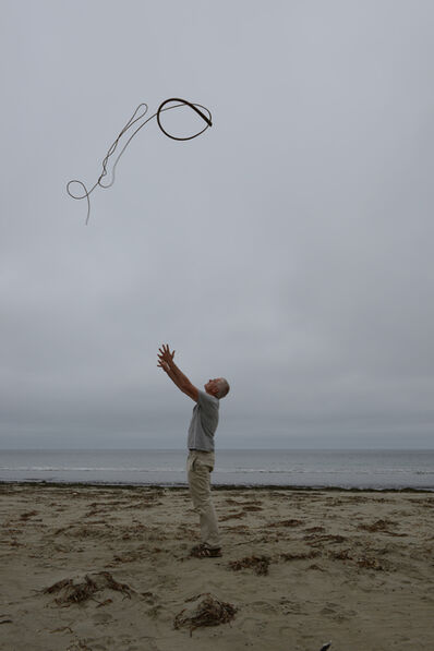 Andy Goldsworthy, 'Kelp thrown into a grey, overcast sky Drakes Beach, California 14 July 2013', 2013