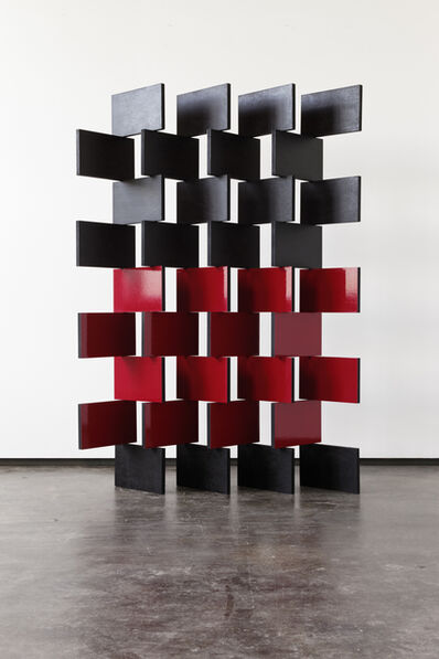 Angela Bulloch, 'Black and Red Paravent', 2014