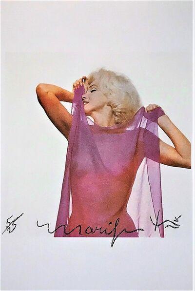 Bert Stern, 'Marilyn: Pink Scarf', 1962